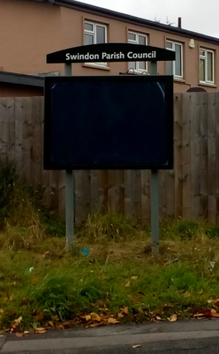 New noticeboard